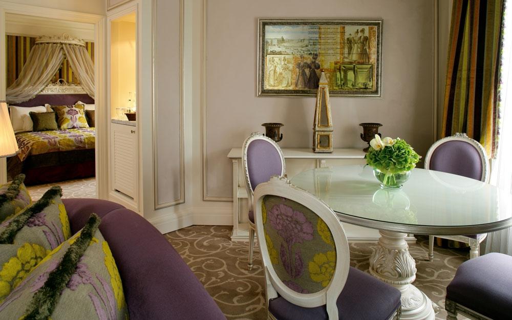 presidential suite diningroom im hotel balzac, innenarchitektur, Innenarchitektur ideen