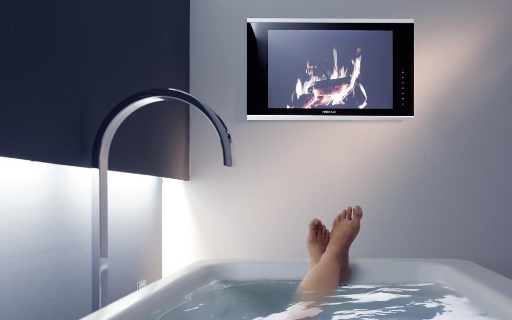 Der waterscreen Fernseher von repaBad | Lifestyle und Design