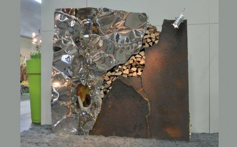 Designer Kamin designer kamin messebild gahr metallart lifestyle und design