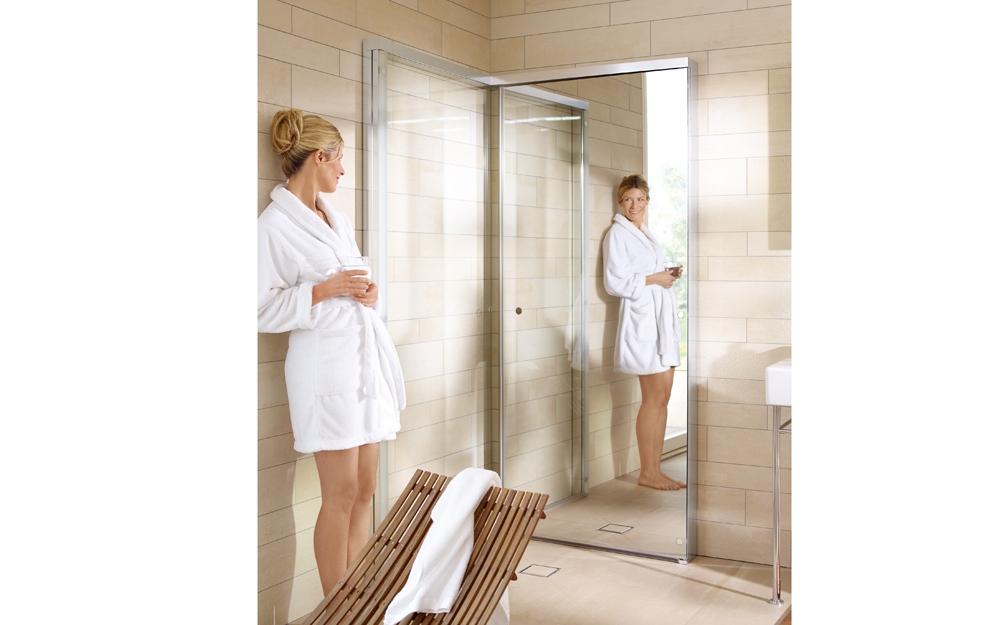 Open Space Dusche : Sauna auf kleinstem Raum von Duravit Lifestyle und Design