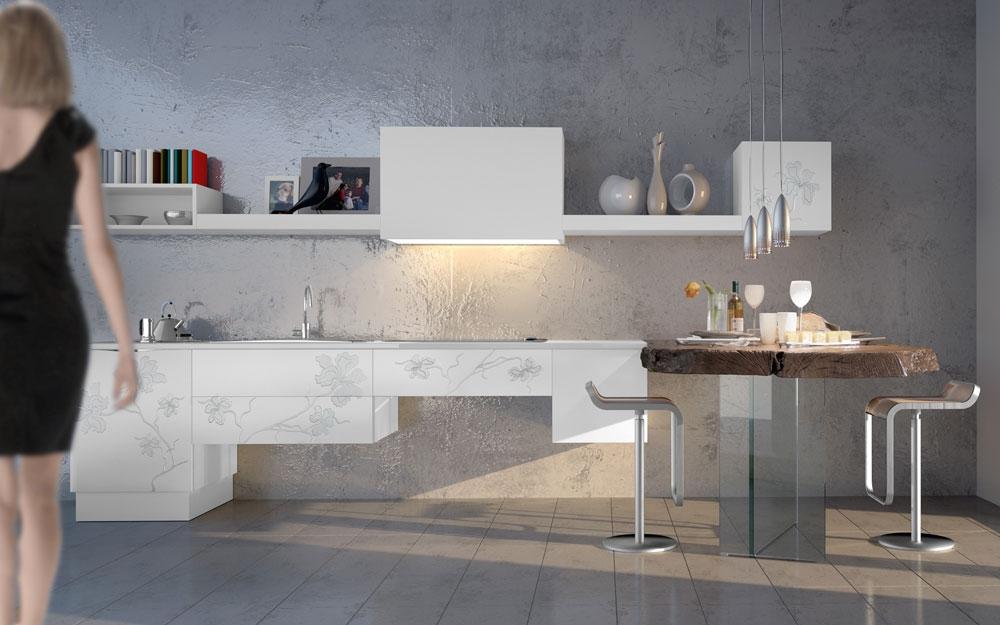 edles holzdesign f r ihre k che von bizzotto italien. Black Bedroom Furniture Sets. Home Design Ideas