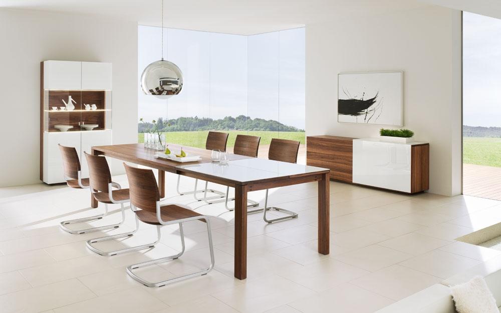 Design Esstisch Stühle esstisch und stühle als essgruppe fürs esszimmer team 7