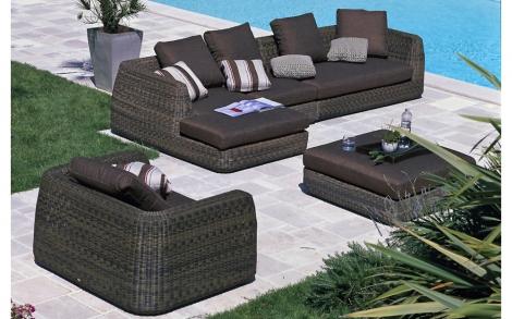 garten garnitur gatenm bel von unopi lifestyle und design. Black Bedroom Furniture Sets. Home Design Ideas
