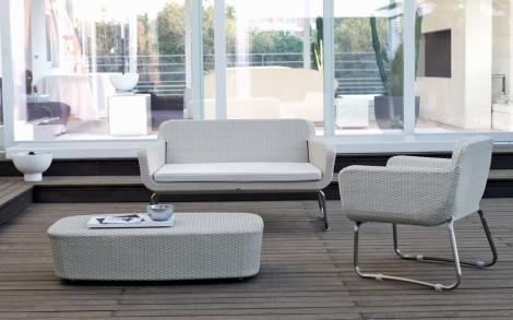 gartenm bel gartenliege garten garnitur von unopiu lifestyle und design. Black Bedroom Furniture Sets. Home Design Ideas