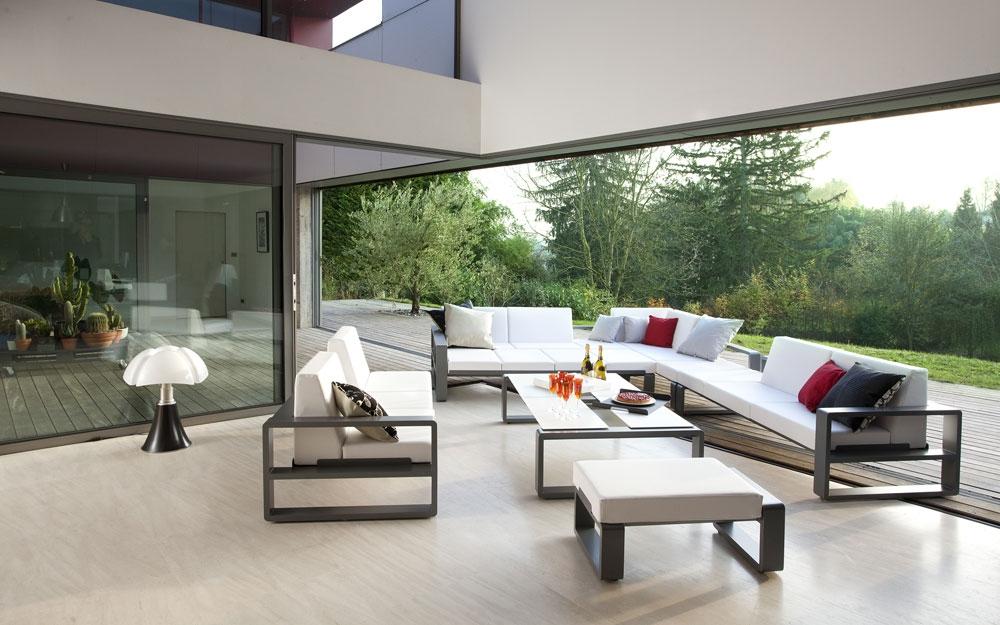 Gartenbank exklusive Outdoor Designermöbel und Gartenmöbel von EGO ...