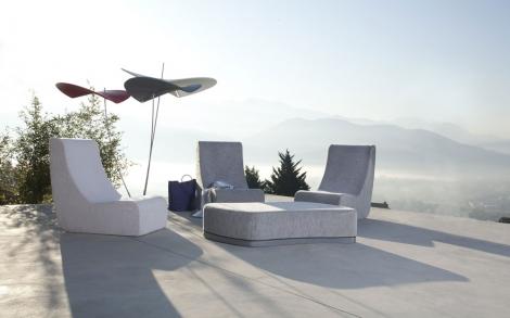 Gartenliegestuhl Puzzle Lounge chair von Ego Paris   Lifestyle und ...