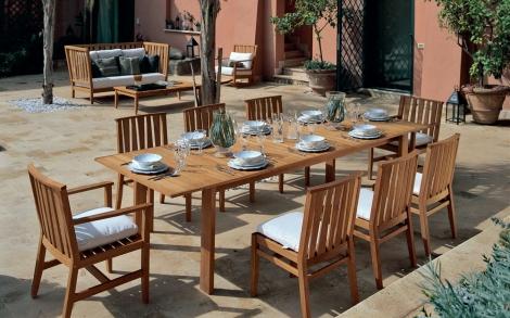 Gartentisch U Stuhle York Von Unopiu Lifestyle Und Design