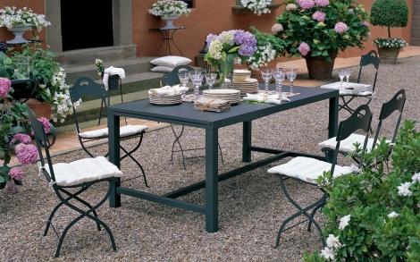 gartentisch und st hle conrad von unopi lifestyle und design. Black Bedroom Furniture Sets. Home Design Ideas