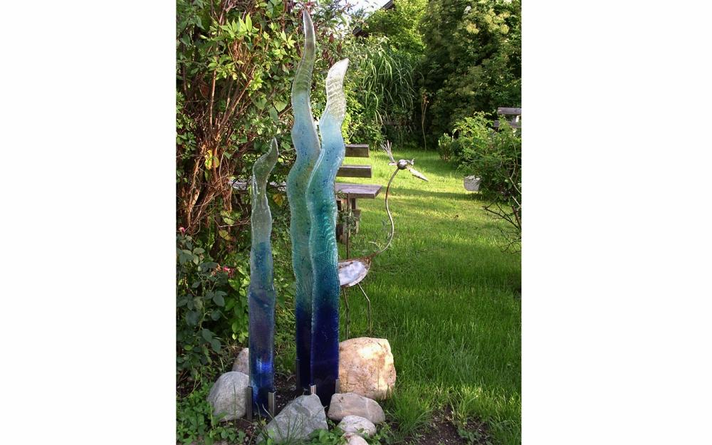 Glas waschtisch stromboli lifestyle und design - Glas deko garten ...