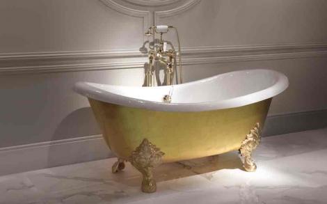 Alte Badewanne goldene badewanne mida lifestyle und design
