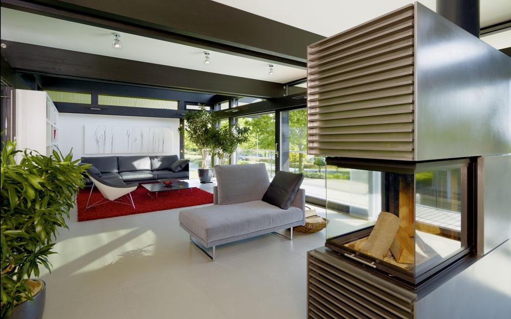 design haus art 5 green in glas und holz architektur von huf haus lifestyle und design. Black Bedroom Furniture Sets. Home Design Ideas