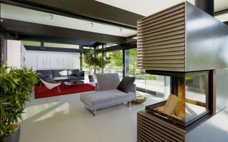 Design Haus Art 5 Green In Glas Und Holz Architektur Von Huf Haus