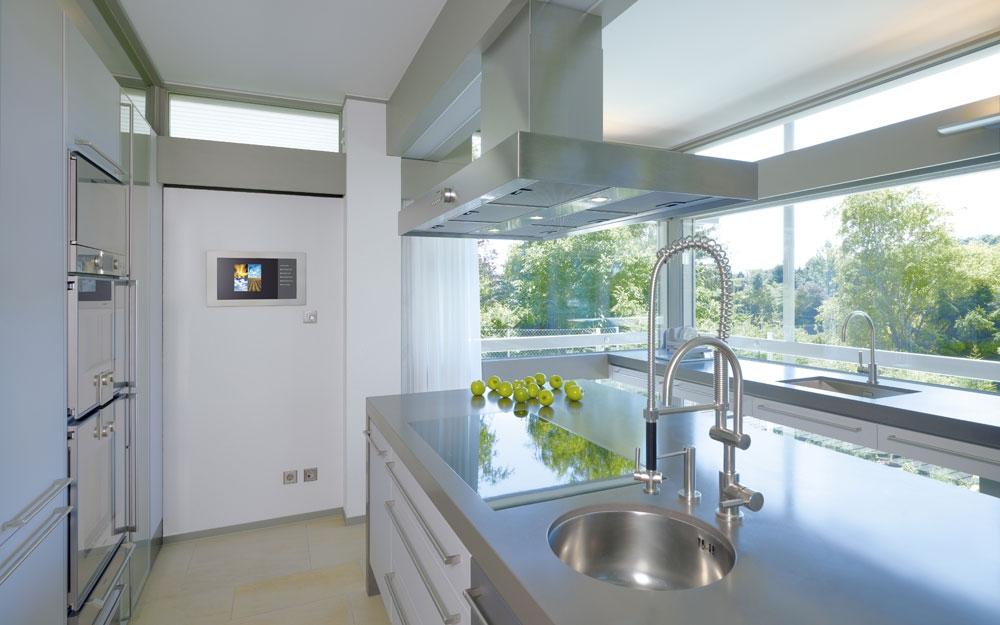 Design Haus Art 5 Grey In Glas Und Holz Architektur Von Huf Haus