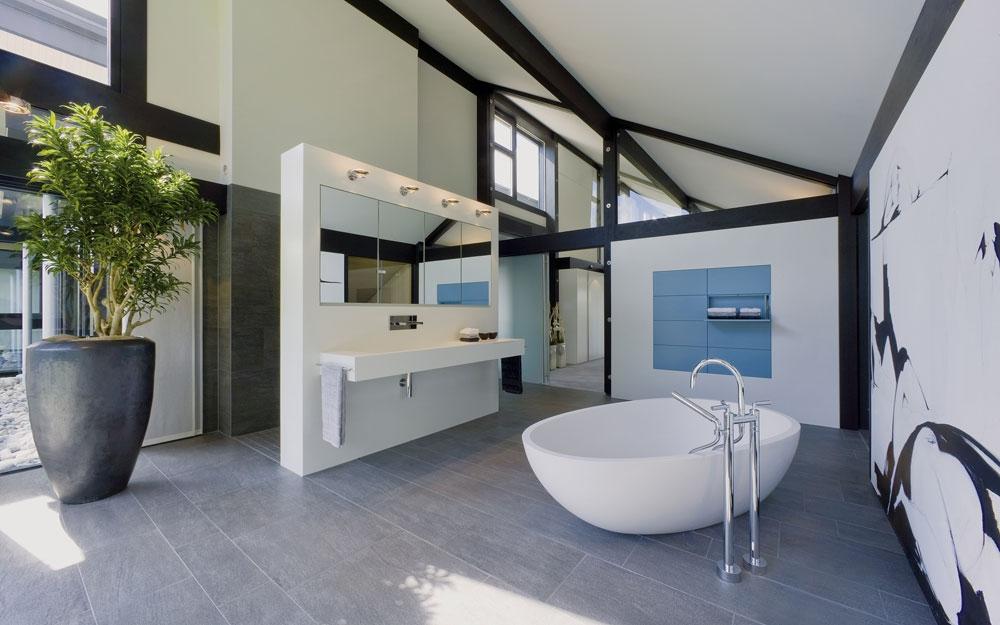 design haus art 9 black in glas und holz architektur von huf haus lifestyle und design. Black Bedroom Furniture Sets. Home Design Ideas