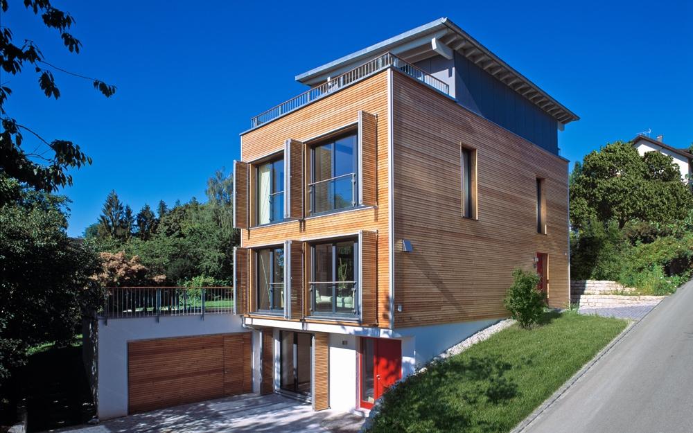 Moderne architektur als design haus von baufritz for Design haus