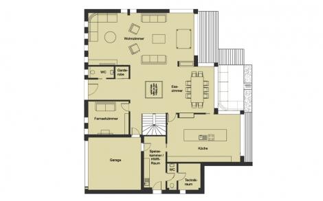 Marvelous Architektenhaus Von BAUFRITZ Patel Grundriss Erdgeschoss