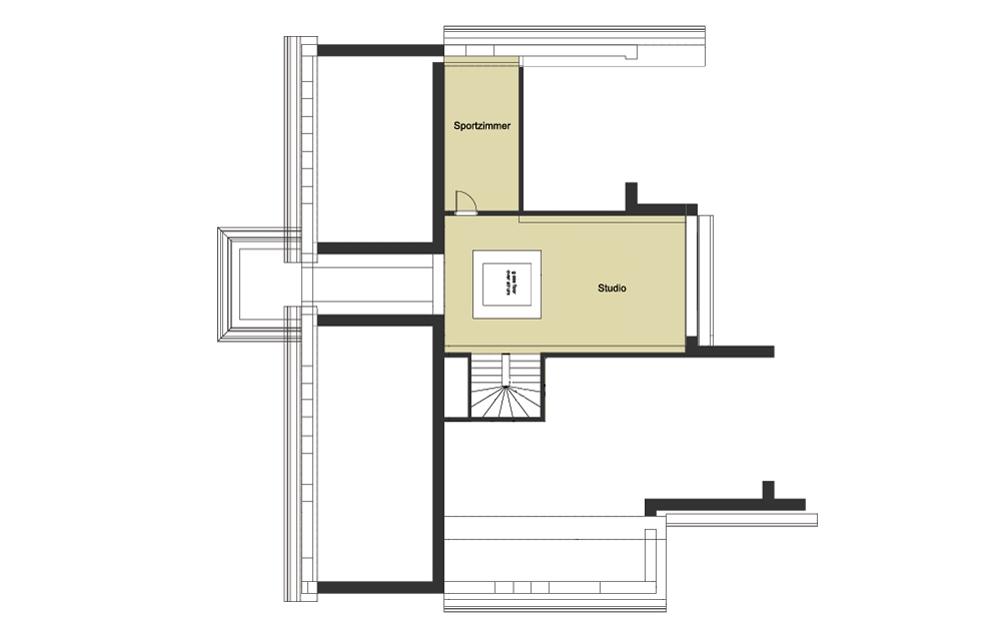 Grundriss erdgeschoss architektenhaus von baufritz for Architektenhaus grundriss