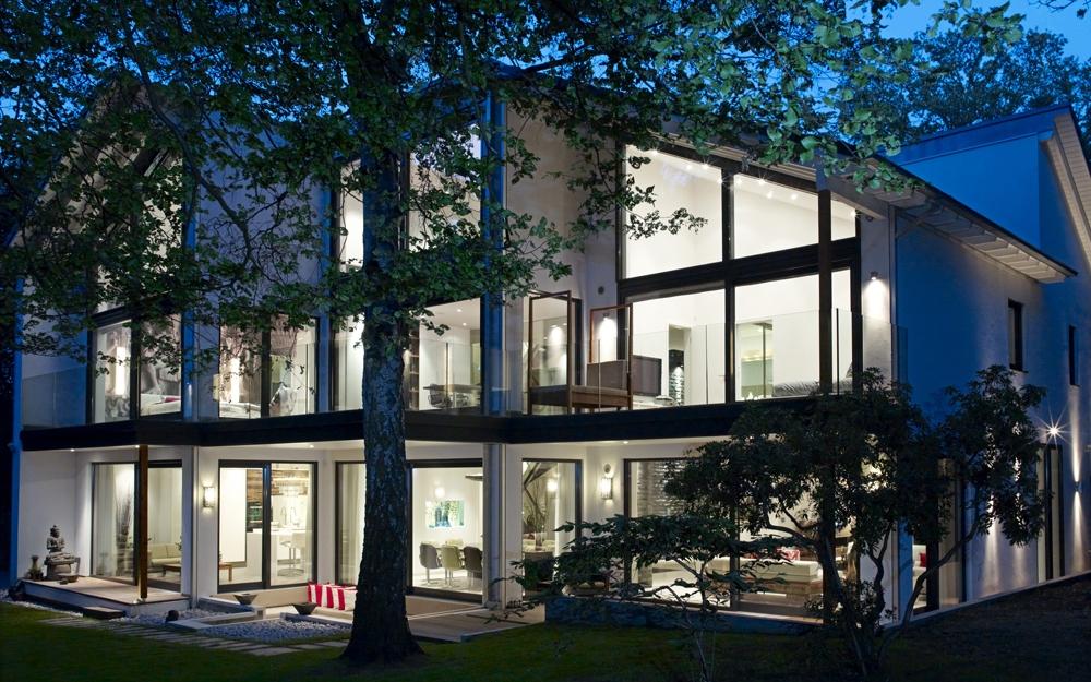 grundriss erdgeschoss architektenhaus von baufritz lifestyle und design. Black Bedroom Furniture Sets. Home Design Ideas