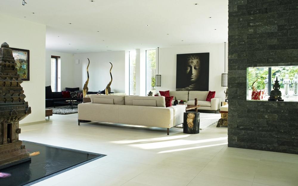 Grundriss dachgeschoss moderne architektur von baufritz for Architektenhaus grundriss