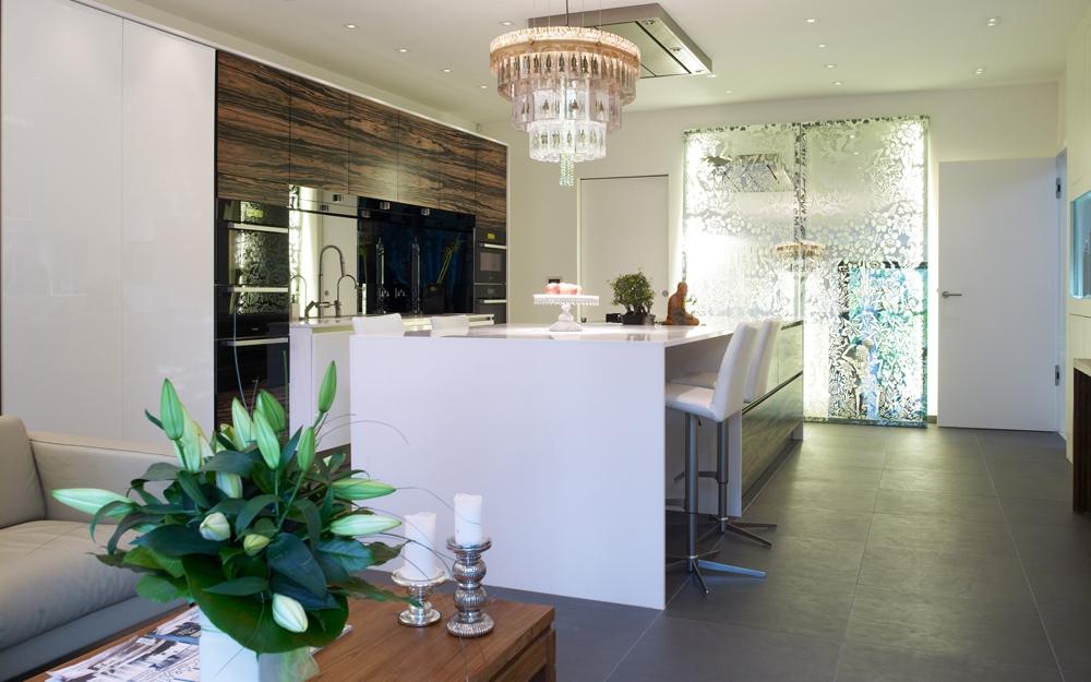 Küchendesign im Architektenhaus von Baufritz | Lifestyle und Design