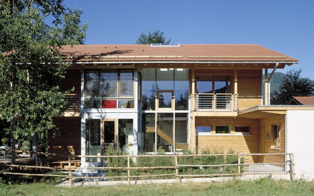 Kologisch hochwertiges landhaus schauer von baufritz for Architektenhaus galerie 3