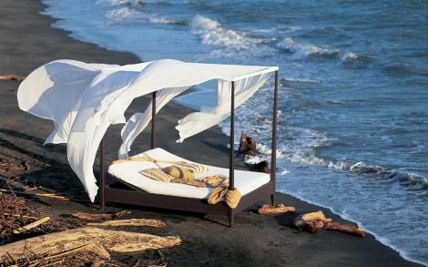himmelbett sunlace von unopi lifestyle und design. Black Bedroom Furniture Sets. Home Design Ideas