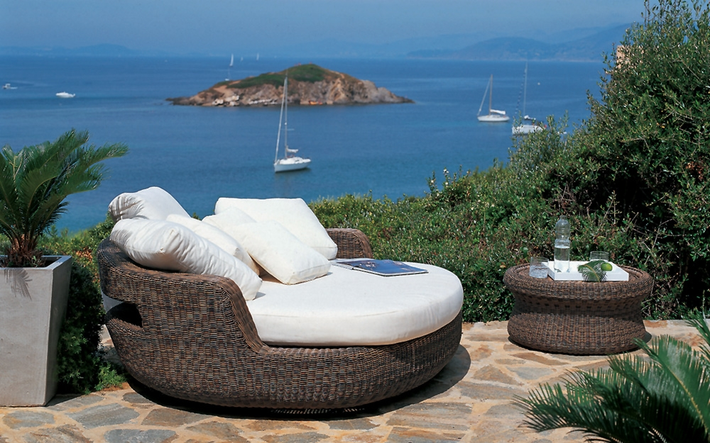 Garten Lounge Insel. Great Ungewhnlich Gartenmbel Set Lounge Galerie ...