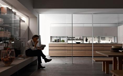 italienische k chen. Black Bedroom Furniture Sets. Home Design Ideas
