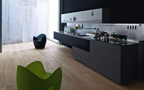 luxus k chen von valcucine modernes k chen design. Black Bedroom Furniture Sets. Home Design Ideas