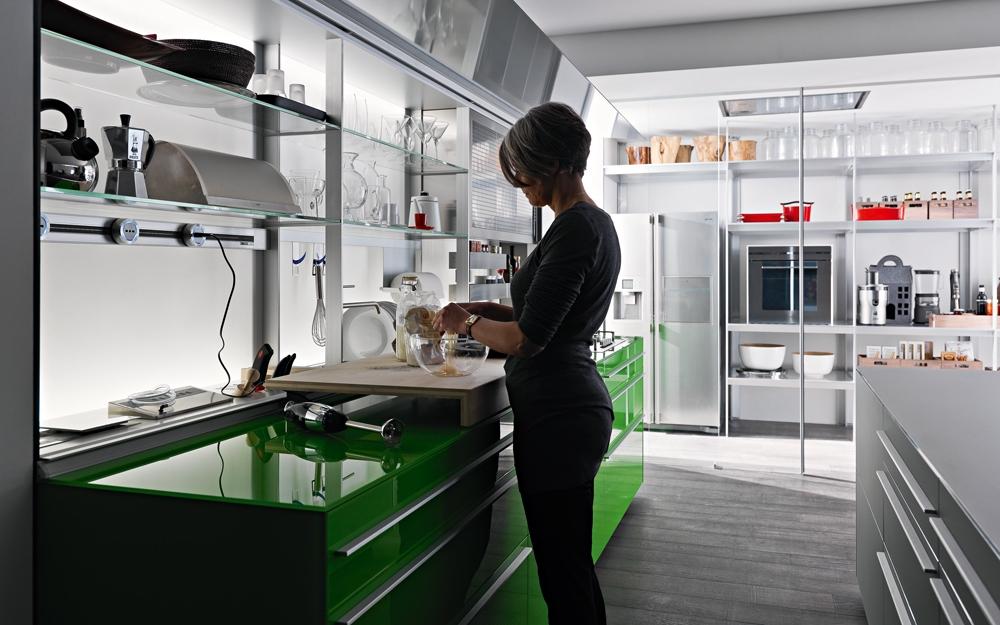 Moderne Küche Artematica, Küchen Design von Valcucine ...