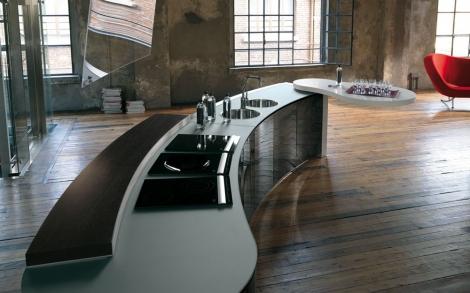 Küche La Cucina Alessi, Küchen Design von Valcucine | Lifestyle und ...