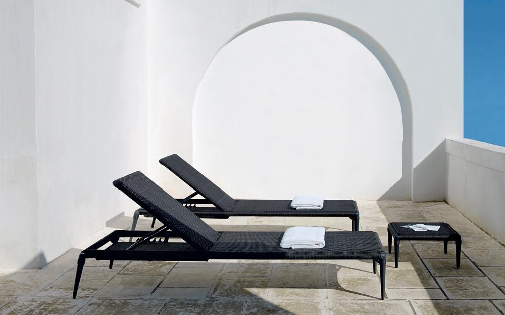 chaiselongue gartenliege gartenm bel von unopiu lifestyle und design. Black Bedroom Furniture Sets. Home Design Ideas