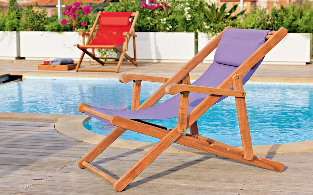 Chaiselongue, Gartenliege, Gartenmöbel von Unopiu | Lifestyle und Design