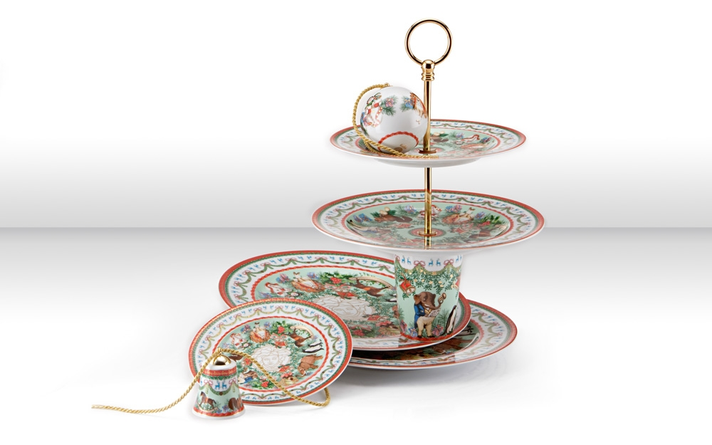 porzellan versace le grand divertissement von rosenthal lifestyle und design. Black Bedroom Furniture Sets. Home Design Ideas