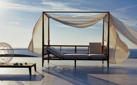 himmelbett synthesis von unopi lifestyle und design. Black Bedroom Furniture Sets. Home Design Ideas