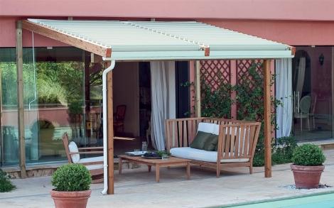 pergola solange von unopi lifestyle und design. Black Bedroom Furniture Sets. Home Design Ideas