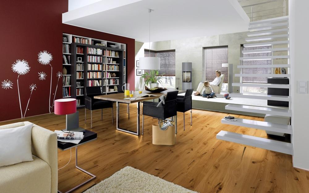 parkett parkettboden holz boden von hain lifestyle und design. Black Bedroom Furniture Sets. Home Design Ideas