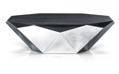 Tische Beistelltische Von Bretz Wohntraeume Stealth Silber Tisch