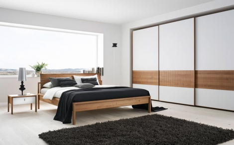 bett betten schrank und schlafzimmer von team 7 lifestyle und design. Black Bedroom Furniture Sets. Home Design Ideas