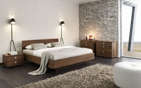 Bett, Betten und Schlafzimmer von TEAM 7 | Lifestyle und Design