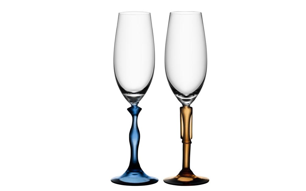 Vase als glas kunst zur deko von kosta boda lifestyle for Deko und design