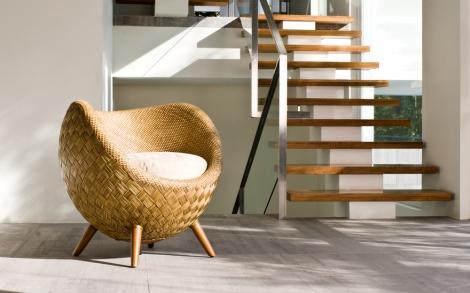 Runder Sessel der ddem Mond nachempfunden ist | Lifestyle ...
