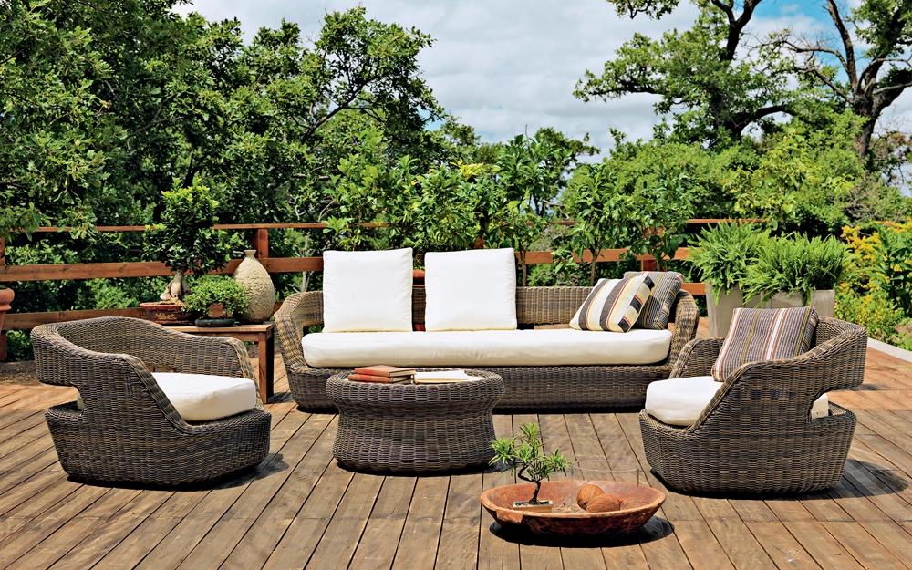 gartenm bel gartentisch gartenstuhl von unopiu lifestyle und design. Black Bedroom Furniture Sets. Home Design Ideas