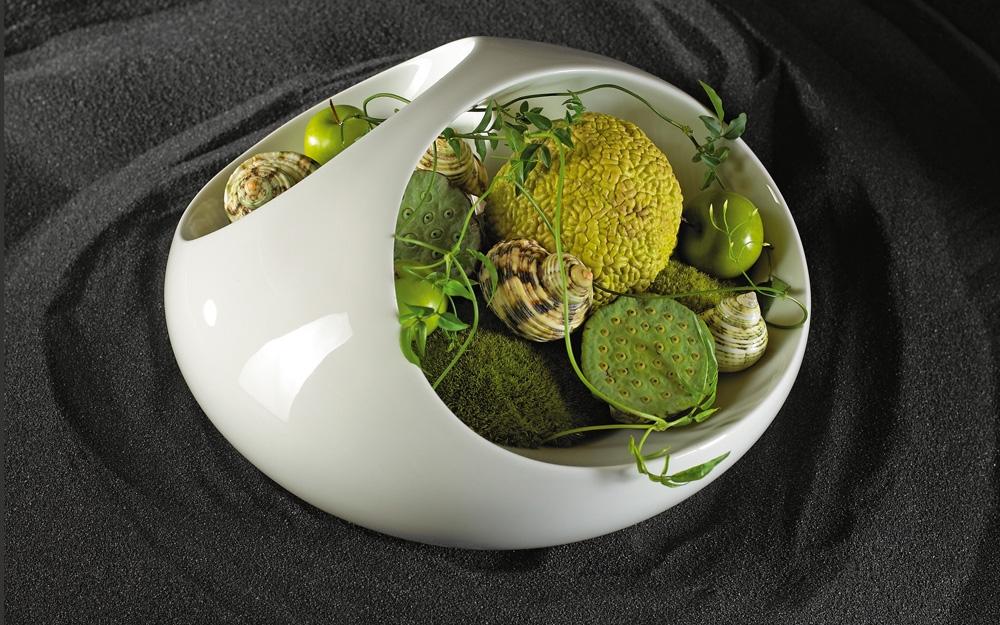 vase aus porzellan von rosenthal lifestyle und design. Black Bedroom Furniture Sets. Home Design Ideas