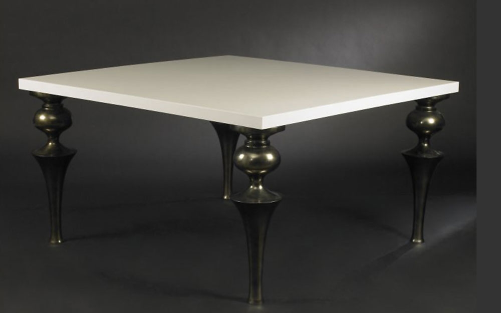 rundtisch legno acciaio design m bel von vg italien. Black Bedroom Furniture Sets. Home Design Ideas