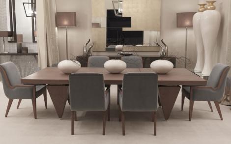 Esstisch stühle  Esstisch und Stühle, italienische Möbel von TURRI Italien ...