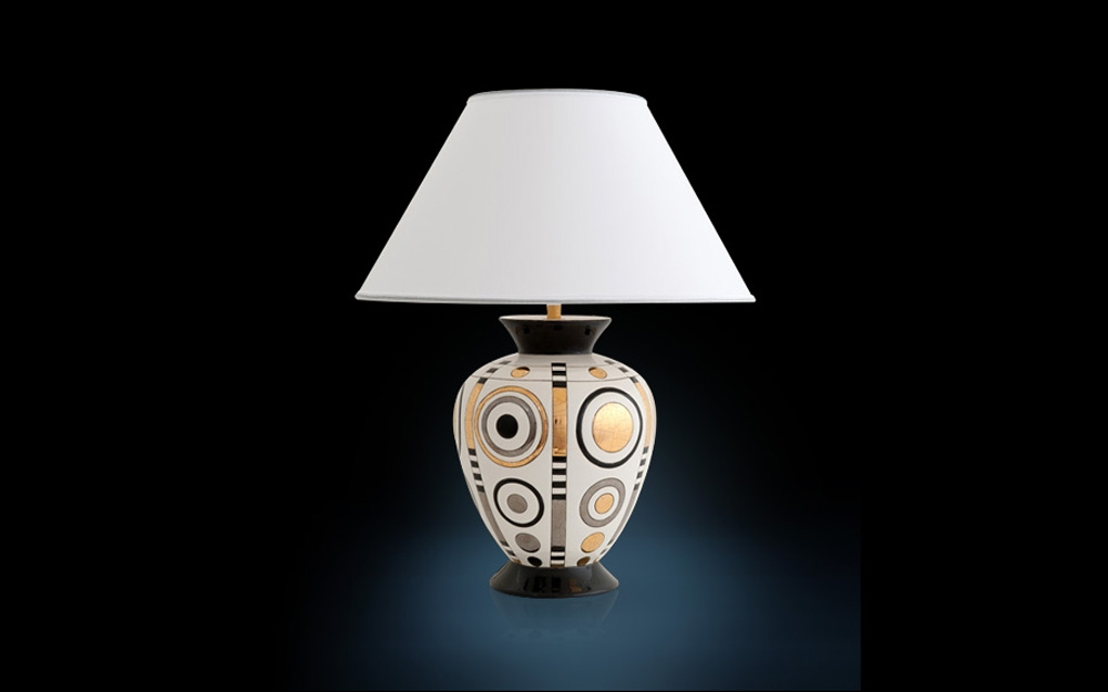 Kunstvolle tischleuchten von longwy lifestyle und design for Design tischleuchte