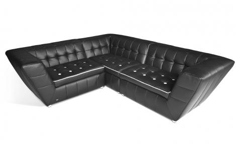 tiziana sofa schwarz von bretz lifestyle und design. Black Bedroom Furniture Sets. Home Design Ideas