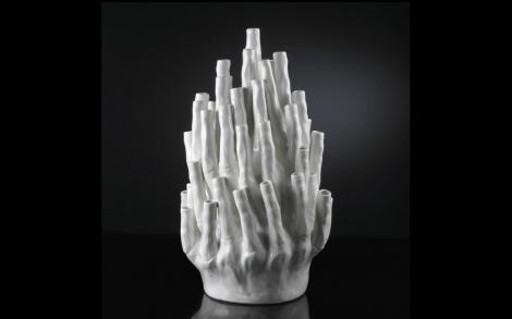 vase tulipier ceramica glaskunst von vg new trend lifestyle und design. Black Bedroom Furniture Sets. Home Design Ideas