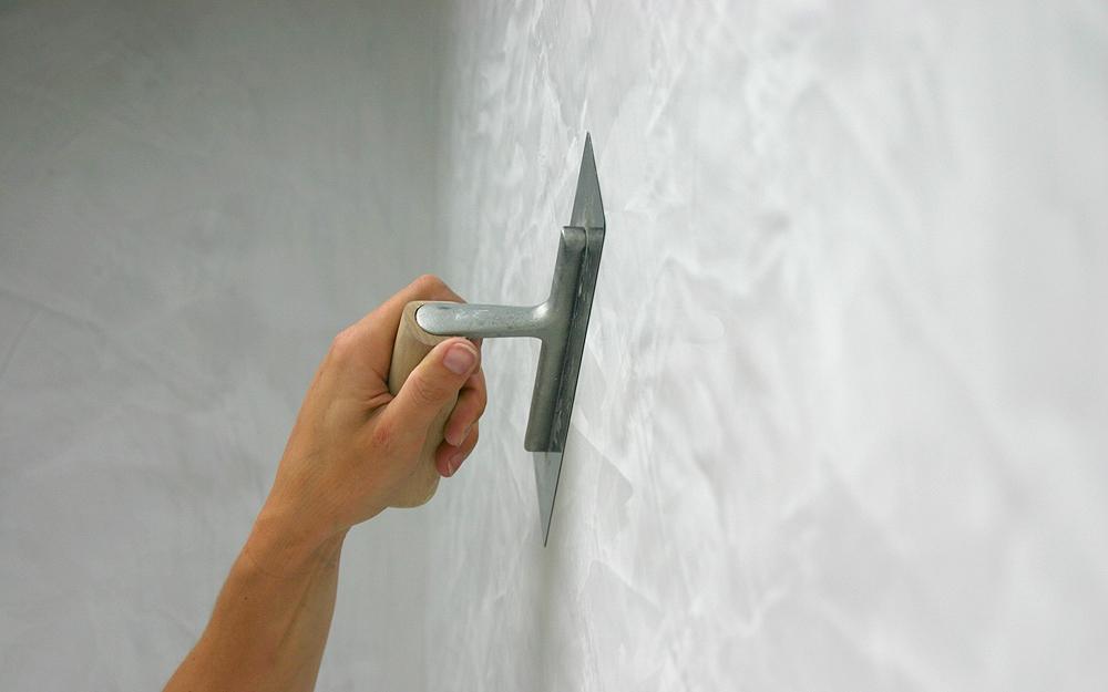 Wandgestaltung Durch Wandmalerei Mit Farben Und Stuck